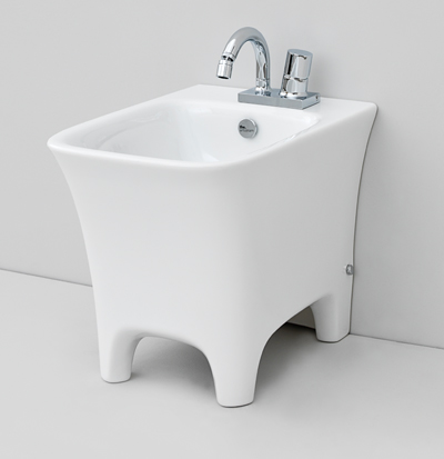 cow back to wall bidet