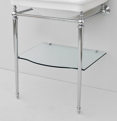 chromed structure washbasin 68