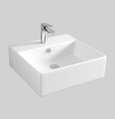 QUL002 wall hung countertop washbasin 50 X 48